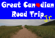 Ad for Great Canadian Road Trip Junior Edition