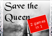 Ad for Save the Queen, The King Returns
