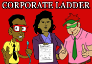 Ad for Corporate Ladder