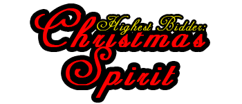 Highest Bidder: Christmas Spirit Logo