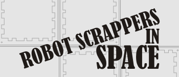 Robot Scrappers in Space Logo