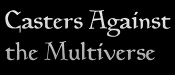 Casters Against the Multiverse Logo