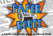 Ad for Paper Route
