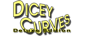 Dicey Curves Logo