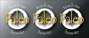 Teach Me How-To Paleo Logo