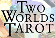 Ad for Two Worlds Tarot