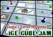 Ad for Santa's Little Helpers and the Ice Cube Jam