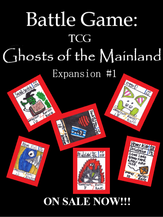 Battle Game: TCG Expansion #1: Ghosts of the Mainland