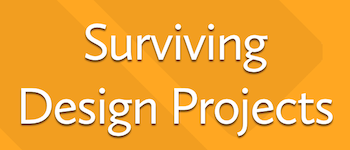 Surviving Design Projects Logo