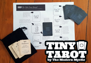 Ad for Tiny Tarot