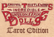 Ad for Dungeoneering Dolls Tarot