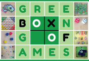 Ad for Green Box of Games