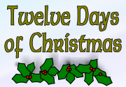 Ad for Twelve Days of Christmas