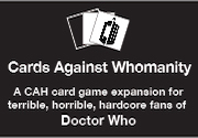 Ad for Cards Against Whomanity - Hardcore
