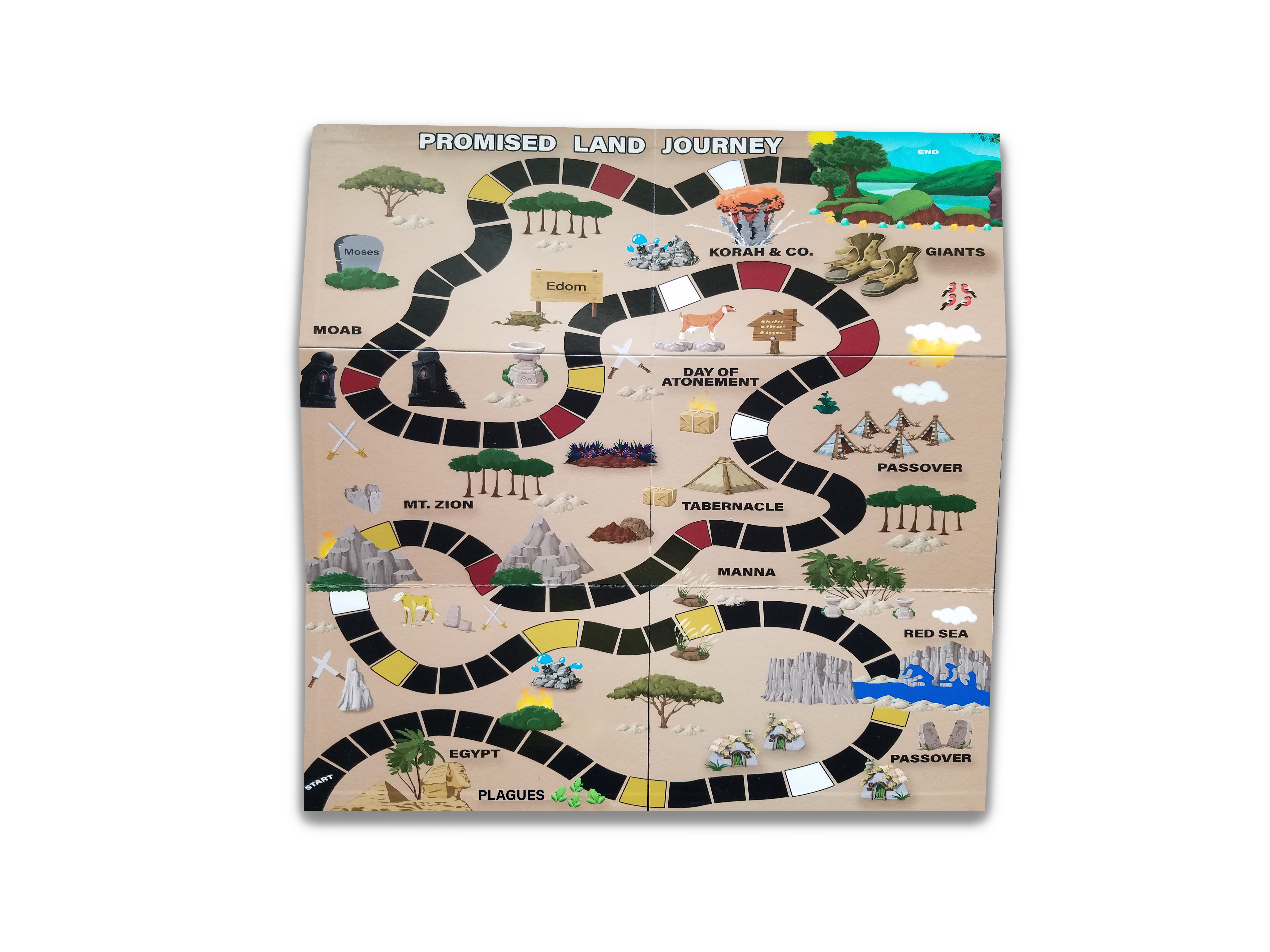 Promised Land Journey™ Bible Board Game