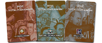 Rise of Totalitarianism Play Book Logo