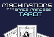 Ad for Machinations of the Space Princess Tarot