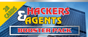 Hackers & Agents Threat Deckcon Booster Logo