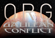 Ad for ORG: The Galilean Conflict