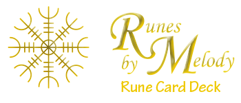 Runes By Melody Rune Card Deck Logo