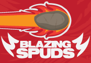 Ad for Blazing Spuds