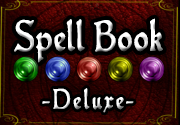 Ad for Spell Book Deluxe Edition