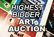 Ad for Highest Bidder: Art Auction
