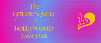 Golden Age of Hollywood Tarot Deck Logo