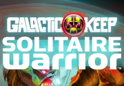 Ad for Galactic Keep Solitaire Warrior