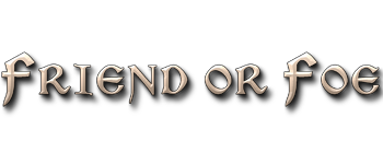 Friend or Foe (Game-board Edition) Logo