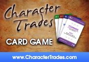 Ad for Character Trades - Main Card Game