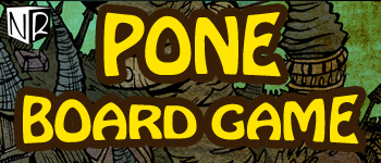 P.O.N.E. Board Game Logo