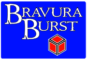 Ad for Bravura Burst: The Roll-playing Game