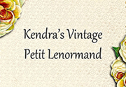 Ad for Kendra's Vintage Petit Lenormand