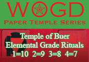 Ad for Temple of Buer - Elemental Grades