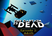 Ad for The Captain is Dead - Adrift