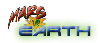 Mars vs. Earth Logo