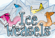 Ad for Ice Weasels