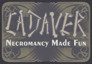 Ad for Cadaver