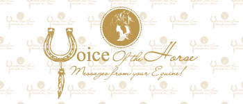 Voice Of The Horse - Messages from your equine! Logo
