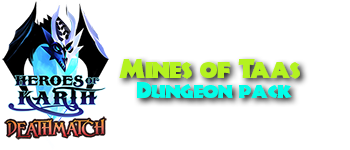 Deathmatch: The Mines of Taas Dungeon Adventure Pack™ Logo