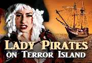 Ad for Lady Pirates on Terror Island