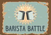 Ad for Barista Battle