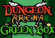 Ad for Dungeon Arena: Green Box