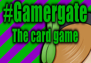 Ad for Gamergate the Card Game