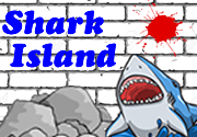 Ad for Shark Island (Print & Play)