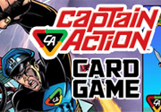 Ad for Captain Action Card Game