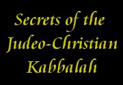 Ad for Secrets of the Judeo-Christian Kabbalah
