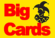 Ad for Big Cards