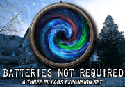 Ad for Three Pillars: Batteries Not Required